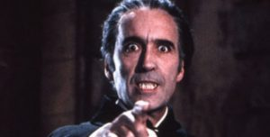 Christopher Lee alias Dracula