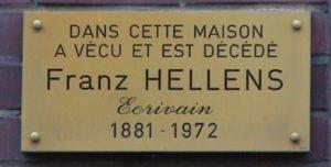 Die Phantome des Franz Hellens
